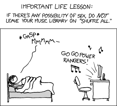 XKCD #400 Important Life Lesson